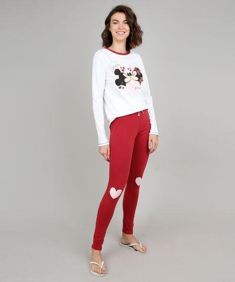 Pijama-Feminino-Mickey-e-Minnie-Manga-Longa-Off-White-9547555-Off_White_1