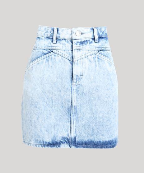 Saia-Jeans-Feminina-Mindset-Curta-com-Recortes-Azul-Claro-9642628-Azul_Claro_5