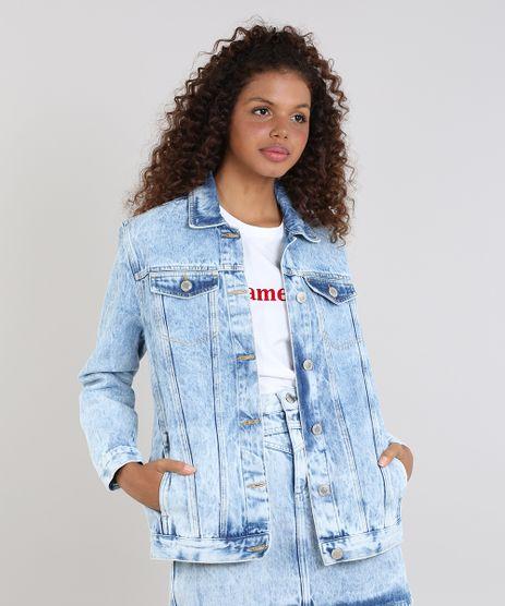 Jaqueta-Jeans-Feminina-Mindset-com-Bolsos-Azul-Claro-9642627-Azul_Claro_1