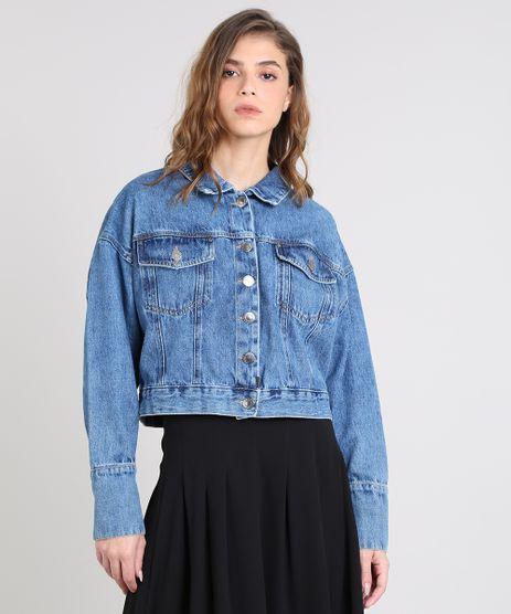 Jaqueta-Jeans-Feminina-Mindset-Vintage-Oversized-Azul-Escuro-9391040-Azul_Escuro_1
