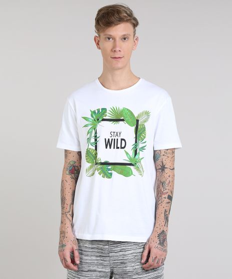 Camiseta-Masculina--Stay-Wild--Manga-Curta-Gola-Careca-Off-White-9510433-Off_White_1