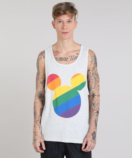 Regata-Masculina-Pride-Mickey-Arco-Iris-Cavada-Gola-Careca-Cinza-Mescla-Claro-9591377-Cinza_Mescla_Claro_1