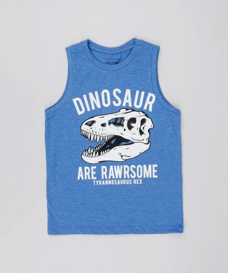 Regata-Infantil-Dinossauro-Decote-Careca-Azul-9526087-Azul_1