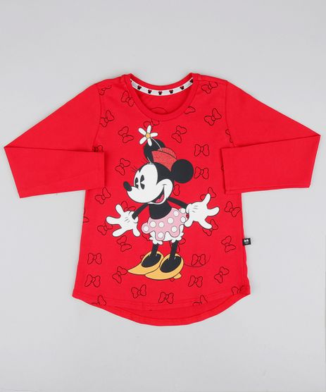 Blusa-Infantil-Minnie-com-Brilho-Manga-Longa-Vermelha-9547642-Vermelho_1