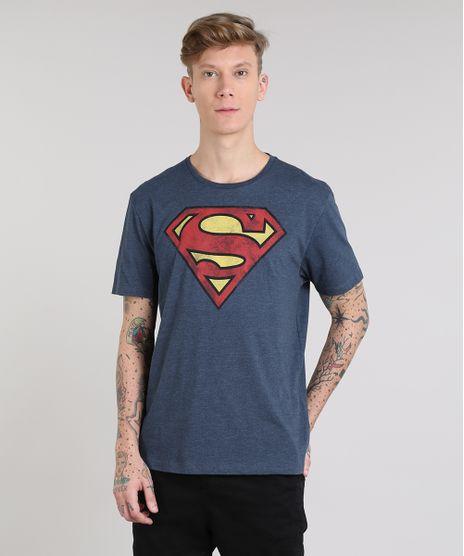 Camiseta-Masculina-Super-Homem-Manga-Curta-Gola-Careca-Azul-Marinho-9512369-Azul_Marinho_1