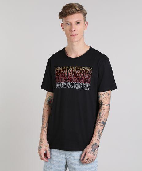 Camiseta-Masculina--More-Summer--Manga-Curta-Gola-Careca-Preta-9513213-Preto_1