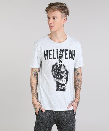 Camiseta-Masculina--Hellyeah--Manga-Curta-Gola-Careca-Cinza-Mescla-Claro-9510373-Cinza_Mescla_Claro_1