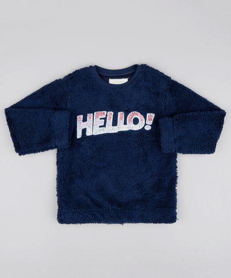 Sueter-Infantil-em-Pelo--Hello--com-Paetes-Azul-Marinho-9362183-Azul_Marinho_1