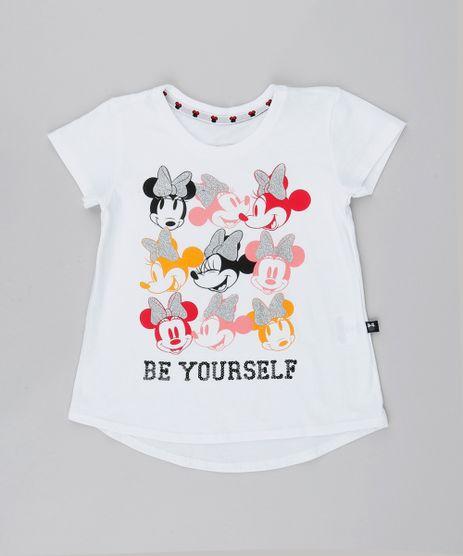 Blusa-Infantil-Minnie-com-Brilho-Manga-Curta-Off-White-9547648-Off_White_1