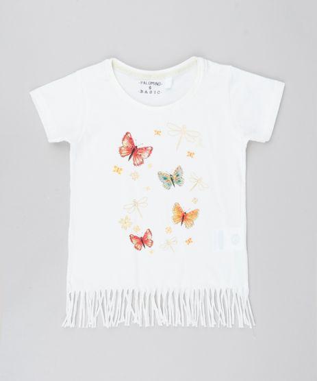 Blusa-Infantil-Borboletas-com-Brilho-e-Franjas-Manga-Curta-Off-White-9578685-Off_White_1
