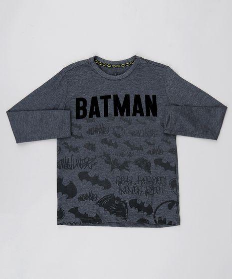 Camiseta-Infantil-Batman-Decote-Careca-Manga-Longa-Cinza-Mescla-Claro-9532763-Cinza_Mescla_Claro_1