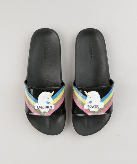 Chinelo-Slide-Feminino-Zaxy-Unicornio-Preto-9210374-Preto_1