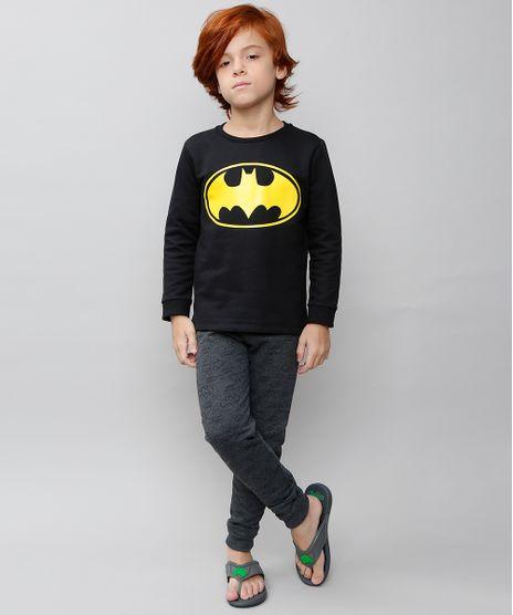 Pijama-Infantil-Batman-em-Moletom-Manga-Longa-Preto-9528040-Preto_1
