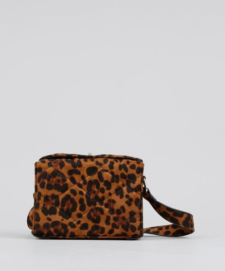 Bolsa-Feminina-Transversal-Pequena-Matelasse-Estampada-Animal-Print-em-Suede-Caramelo-9484074-Caramelo_1