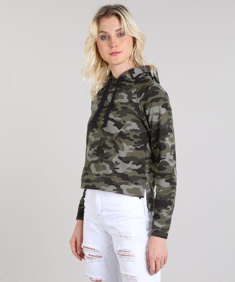 Blusao-Feminino-Estampado-Camuflado-em-Moletom-com-Capuz-Verde-Militar-9562550-Verde_Militar_1