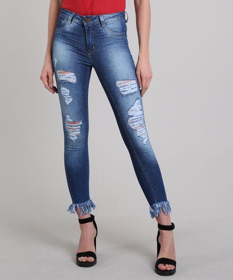 Calca-Jeans-Feminina-Sawary-Super-Skinny-Destroyed-Azul-Escuro-9617987-Azul_Escuro_1