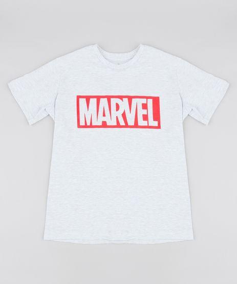 Camiseta-Infantil-Marvel-Manga-Curta-Gola-Careca-Cinza-Mescla-Claro-9542412-Cinza_Mescla_Claro_1