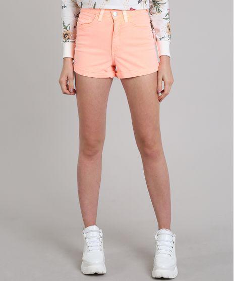 Short-Feminino-Hot-Pant-Cintura-Alta-Laranja-Neon-9587505-Laranja_Neon_1