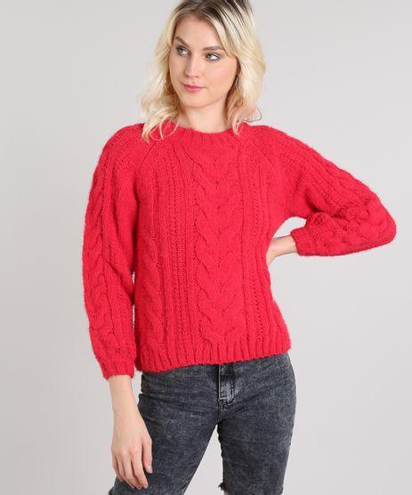 Sueter-Feminino-em-Trico-Decote-Redondo-Vermelho-9431915-Vermelho_1