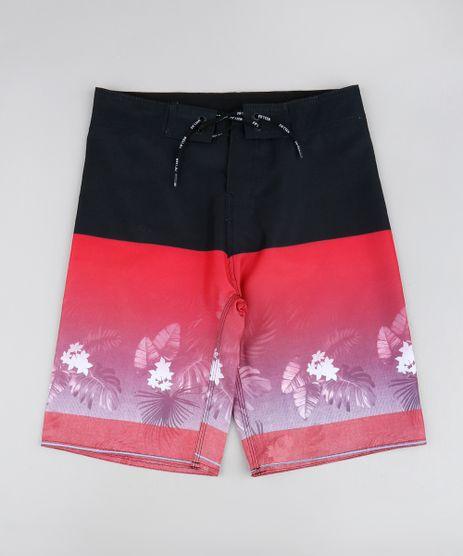 Bermuda-Infantil-Estampada-Tropical-com-Bolso-Vermelha-9536012-Vermelho_1