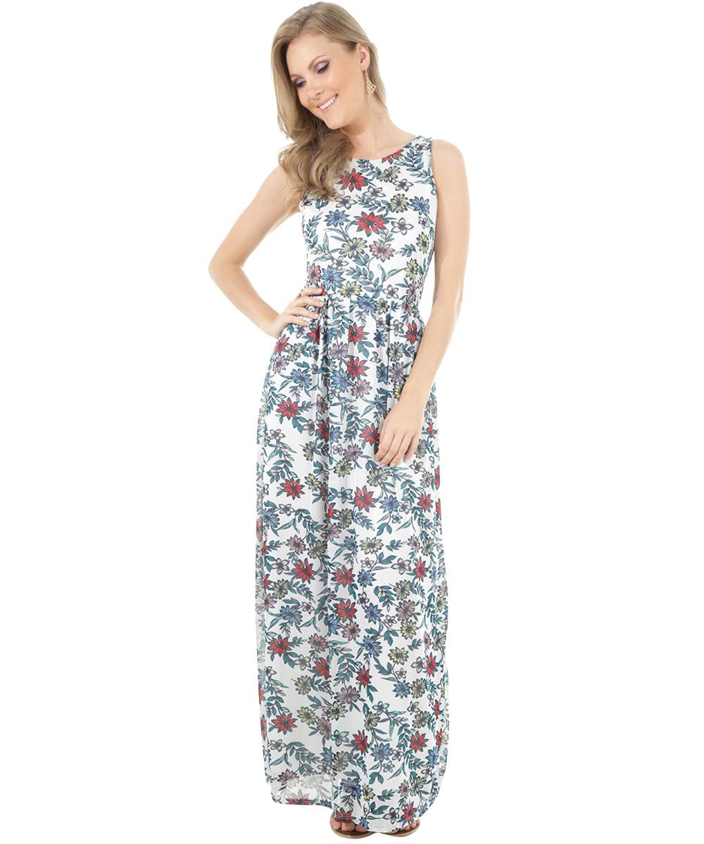 d574935a0 ... Vestido-Longo-Estampado-Floral-Off-White-8444219-Off White 1
