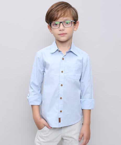Camisa-Infantil-com-Bolso-Manga-Longa-Azul-Claro-9439556-Azul_Claro_1