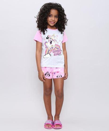 Pijama-Infantil-Minnie-Manga-Curta-Rosa-Claro-9526226-Rosa_Claro_1