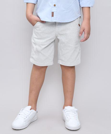 Bermuda-Infantil-Quadriculada-com-Bolsos-Off-White-9453634-Off_White_1