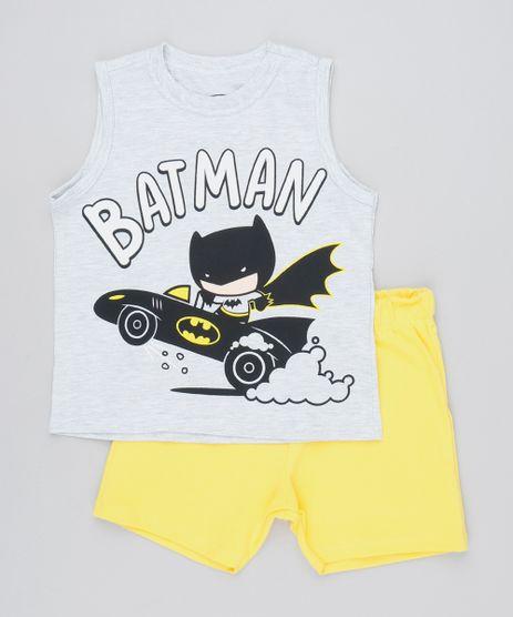 Conjunto-Infantil-de-Regata-Batman-Cinza-Mescla---Bermuda-em-Moletom-Amarelo-9327859-Amarelo_1