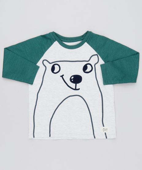 Camiseta-Infantil-Raglan-Urso-Manga-Longa-Gola-Careca-Cinza-Mescla-Claro-9571478-Cinza_Mescla_Claro_1