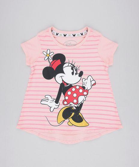 Blusa-Infantil-Minnie-Manga-Curta-Decote-Redondo-Rose-9549209-Rose_1