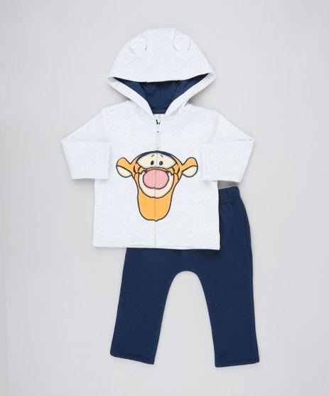 Conjunto-Infantil-Tigrao-de-Blusao-com-Capuz-Cinza-Mescla---Calca-em-Moletom-Azul-Marinho-9457032-Azul_Marinho_1