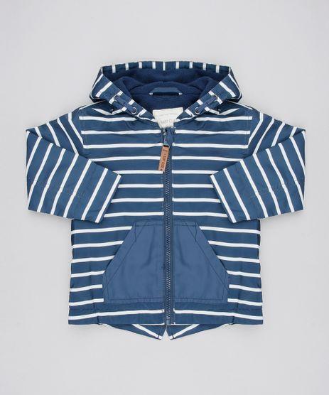 Jaqueta-Corta-Vento-Infantil-Listrada-com-Fleece-Azul-Marinho-9364462-Azul_Marinho_1