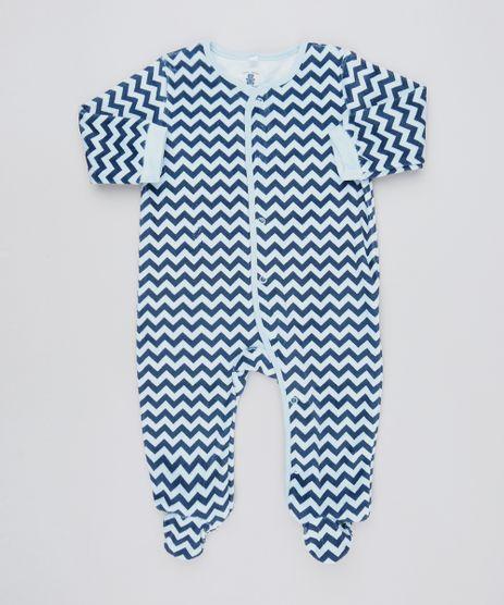 Macacao-Infantil-Estampado-Chevron-em-Plush-Manga-Longa--Azul-Marinho-9195567-Azul_Marinho_1