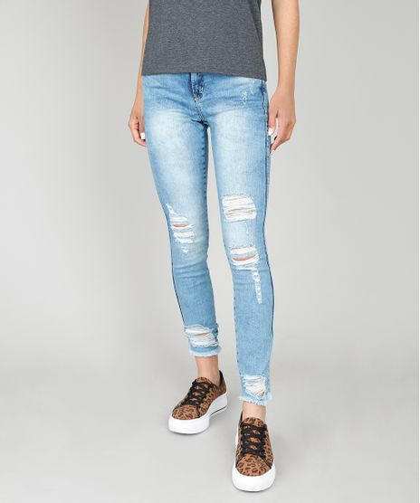 Calca-Jeans-Feminina-com-Rasgos-Azul-Medio-9586453-Azul_Medio_1