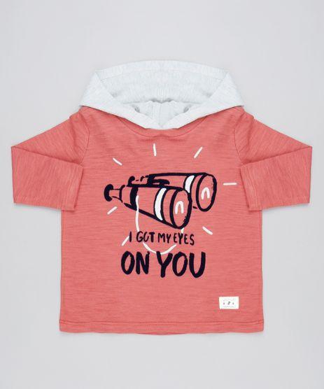 Camiseta-Infantil-Binoculo-com-Capuz-Manga-Longa-Coral-9531228-Coral_1
