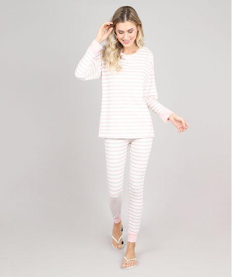 c03c78b41c3 Pijama-Feminino-Listrado-Manga-Longa-Off-White-9548253- ...