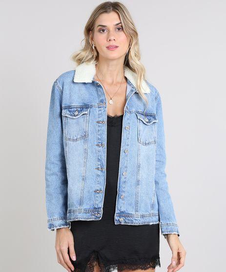 Jaqueta-Jeans-Feminina-com-Pelo-Removivel-Azul-Medio-9589539-Azul_Medio_1