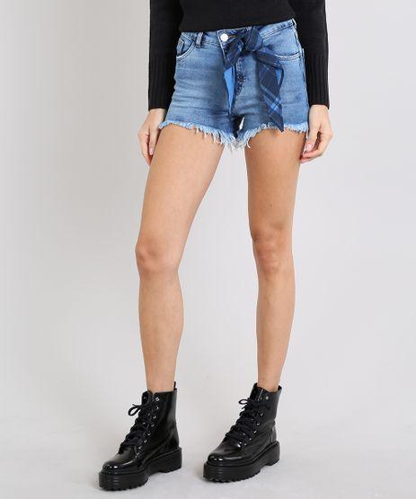 Short-Jeans-Feminino-Boy-Barra-Desfiada-com-Bandana-Azul-Medio-9589283-Azul_Medio_1