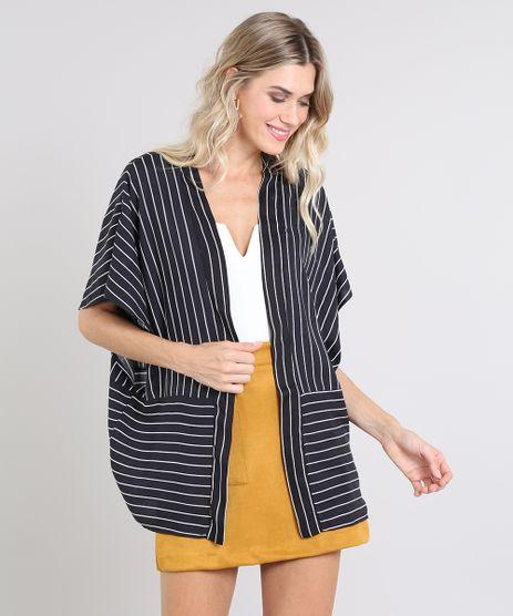 Kimono-Feminino-Listrado-com-Recorte-Sem-Manga-Preto-9579841-Preto_1