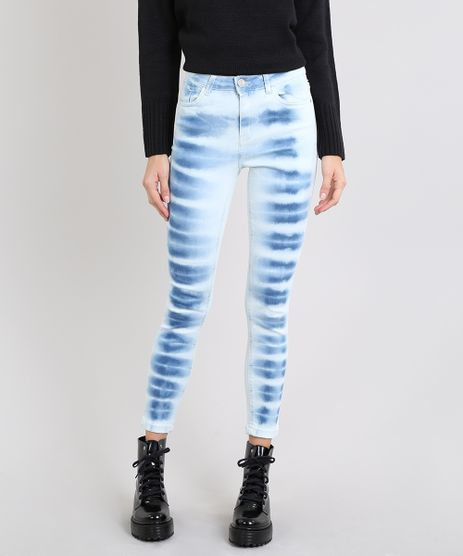 Calca-Jeans-Feminina-Super-Skinny-Tie-Dye-Azul-Claro-9580232-Azul_Claro_1
