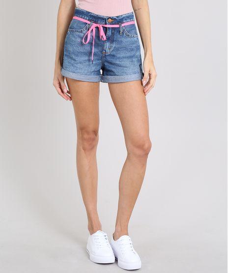 Short-Jeans-Feminino-Mom-com-Cadarco-Barra-Dobrada-Azul-Medio-9573586-Azul_Medio_1