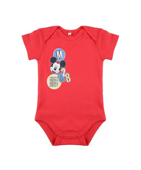 Body-Mickey-em-Algodao---Sustentavel-Vermelho-8442414-Vermelho_1