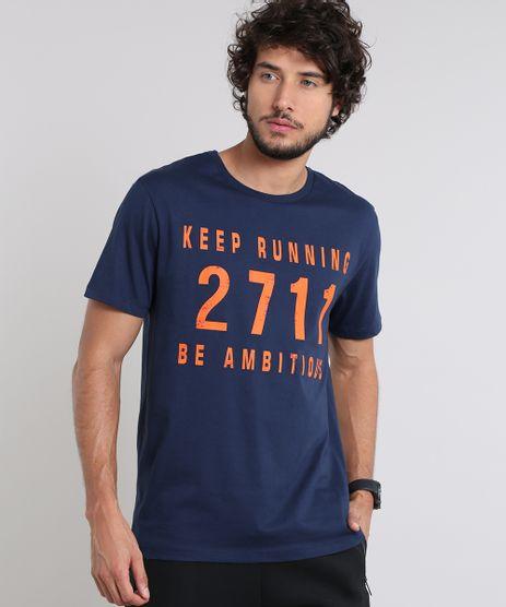 Camiseta-Masculina-Esportiva-Ace--Keep-running-2711-be-ambitious--Manga-Curta-Gola-Careca-Azul-Marinho-9511961-Azul_Marinho_1