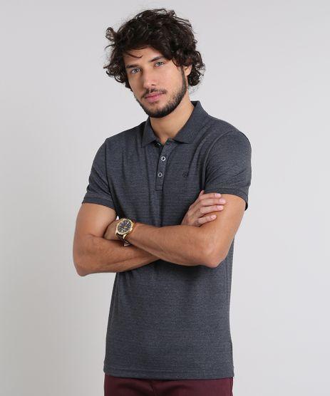 Polo-Masculina-Texturizada-Manga-Curta-Cinza-Mescla-Escuro-9572887-Cinza_Mescla_Escuro_1
