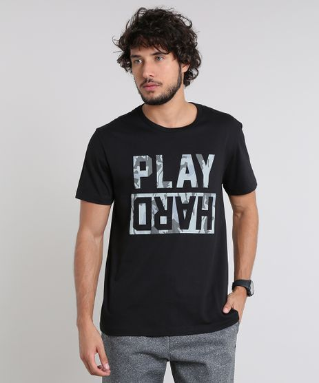 Camiseta-Masculina-Esportiva-Ace--Play-Hard--Manga-Curta-Gola-Careca-Preta-9513939-Preto_1
