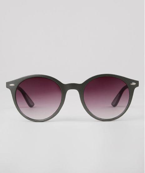 Oculos-de-Sol-Redondo-Masculino-Oneself-Grafite-9636152-Grafite_1