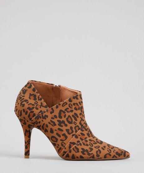Ankle-Boot-Feminino-Vizzano-Estampado-Animal-Print-Bico-Fino-Caramelo-9608722-Caramelo_1