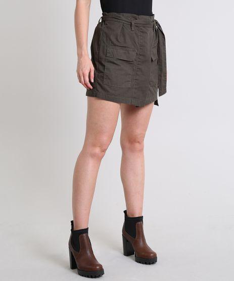 Short-Saia-Feminino-Clochard-com-Faixa-para-Amarrar-Verde-Militar-9594614-Verde_Militar_1