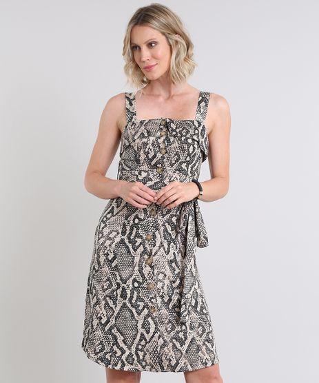 Vestido-Feminino-Estampado-Animal-Print-com-Botoes-Alcas-Medias-Bege-9430331-Bege_1